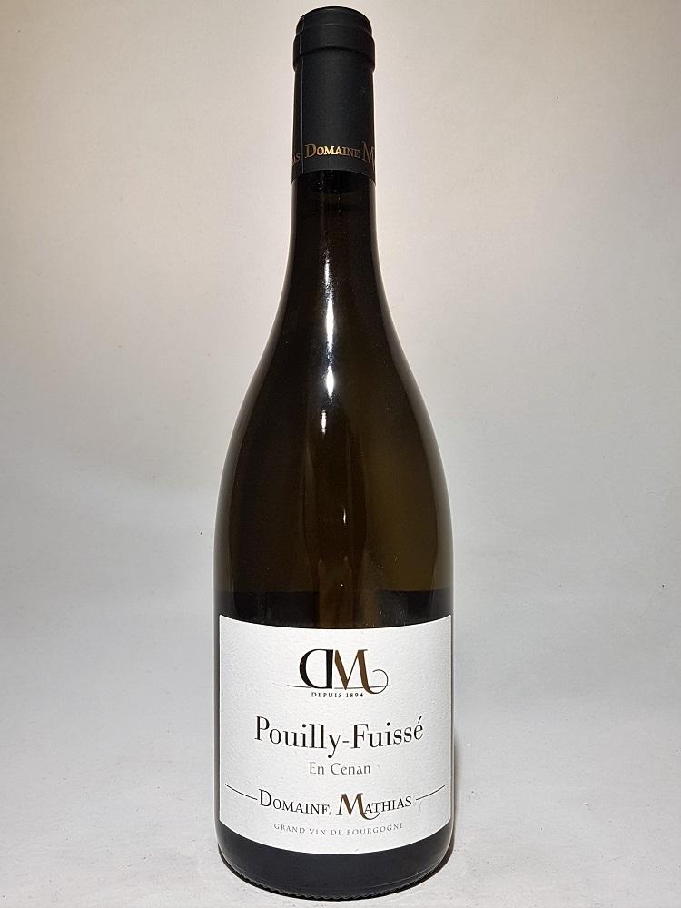 Avis vin Pouilly-Fuissé domaine Mathias