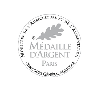 Médaille argent vin blanc Rully