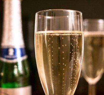 Bulles du champagne